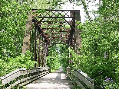 Little Miami Scenic Trail Bridge on way to Yellow Springs