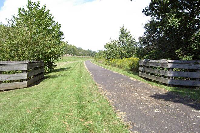 Little Miami Scenic Trail Xenia  to Yellow Springs Xenia North to Yellow Springs Sept 2014