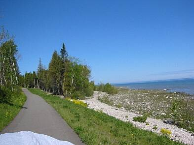 Little Traverse Wheelway On the way to Charlevoix