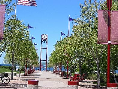 Little Traverse Wheelway Waterfront Park Petoskey
