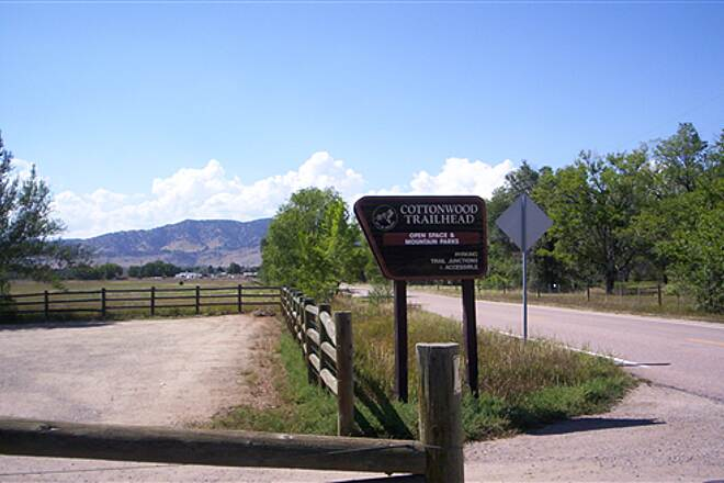 Longmont-to-Boulder Regional Trail   Cottonwood Trailhead and Parking Area
