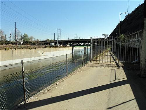 Los Angeles River Trail  South end of trail