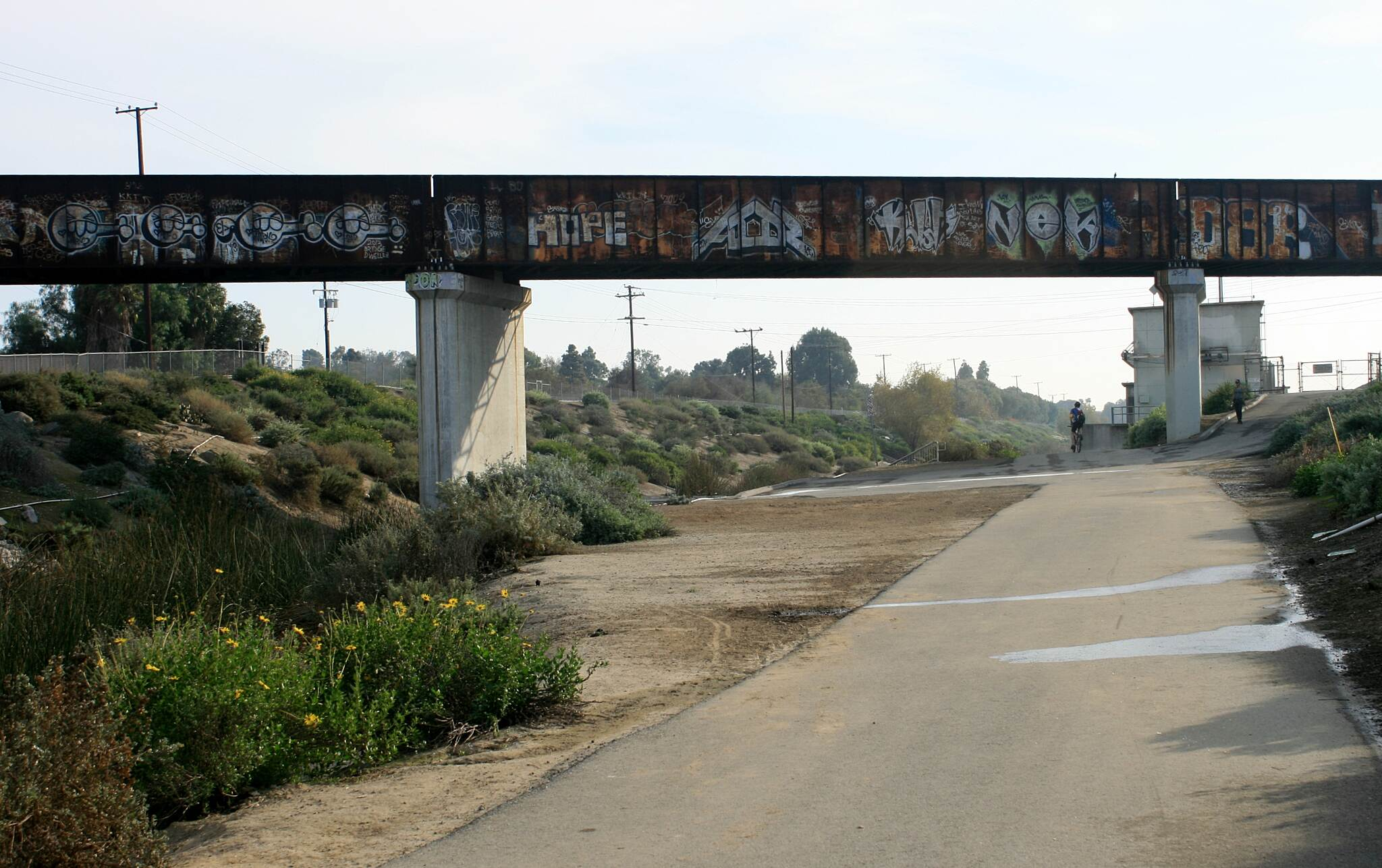 Los Angeles River Trail Dominguez Gap Wetlands