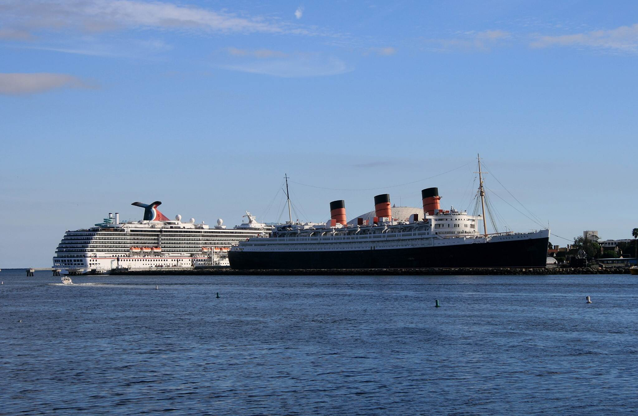 Los Angeles River Trail The Queen Mary