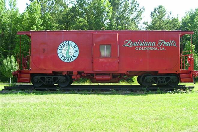 Louisiana Trails - Jamestown to Winnfield Louisiana Trails' Caboose This caboose is located in Goldonna, and is used as a visitor center.