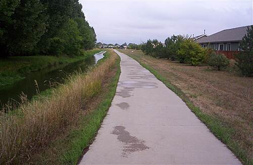 Loveland Recreation Trail Just S of Eisenhower