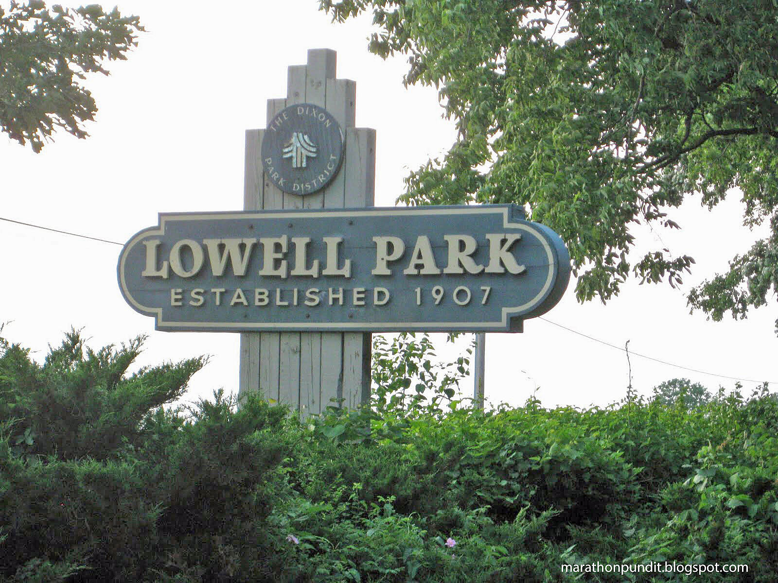 Lowell Parkway Trail Entrance to Lowell Park