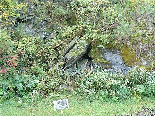 Luzerne County National Recreation Trail  Knox mine shaft escape picture
