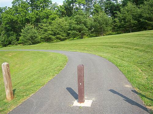 MA & PA Heritage Trail Ma and Pa Trail - Fallston section Southern terminus of the Fallston section of the trail, located at Annie's Playground.