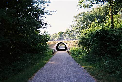 MA & PA Heritage Trail Ma & Pa Heritage Trail View of the tunnel from the south side of Route 23