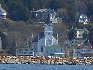 Mackinac Island Loop (State Highway 185) St. Anne's Catholic Church
