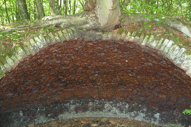 Mahoning Shadow Trail One of seven coke ovens The ovens were used for converting coal into a harder and hotter coal for industrial use. But the pollution killed all the vegetation around them as well as the creeks and the air: smoke, smell and darkness.