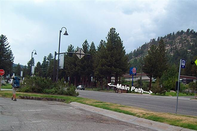 Main Street Connector Along Main St View to Southeast
