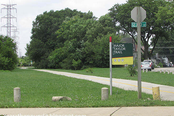 Major Taylor Trail Major Taylor Trail Chicago Major Taylor Trail in Chicago's West Pullman neighborhood.