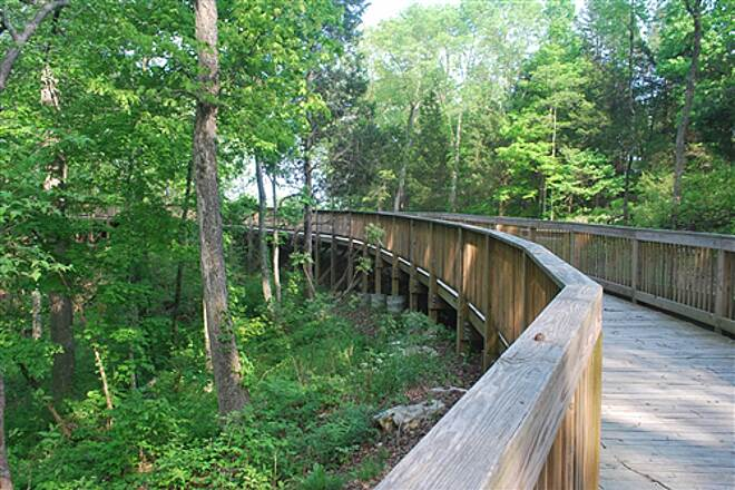 Mammoth Cave Railroad Bike & Hike Trail Trestle