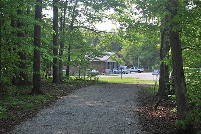 Mammoth Cave Railroad Bike & Hike Trail North End of Trail Campground Store