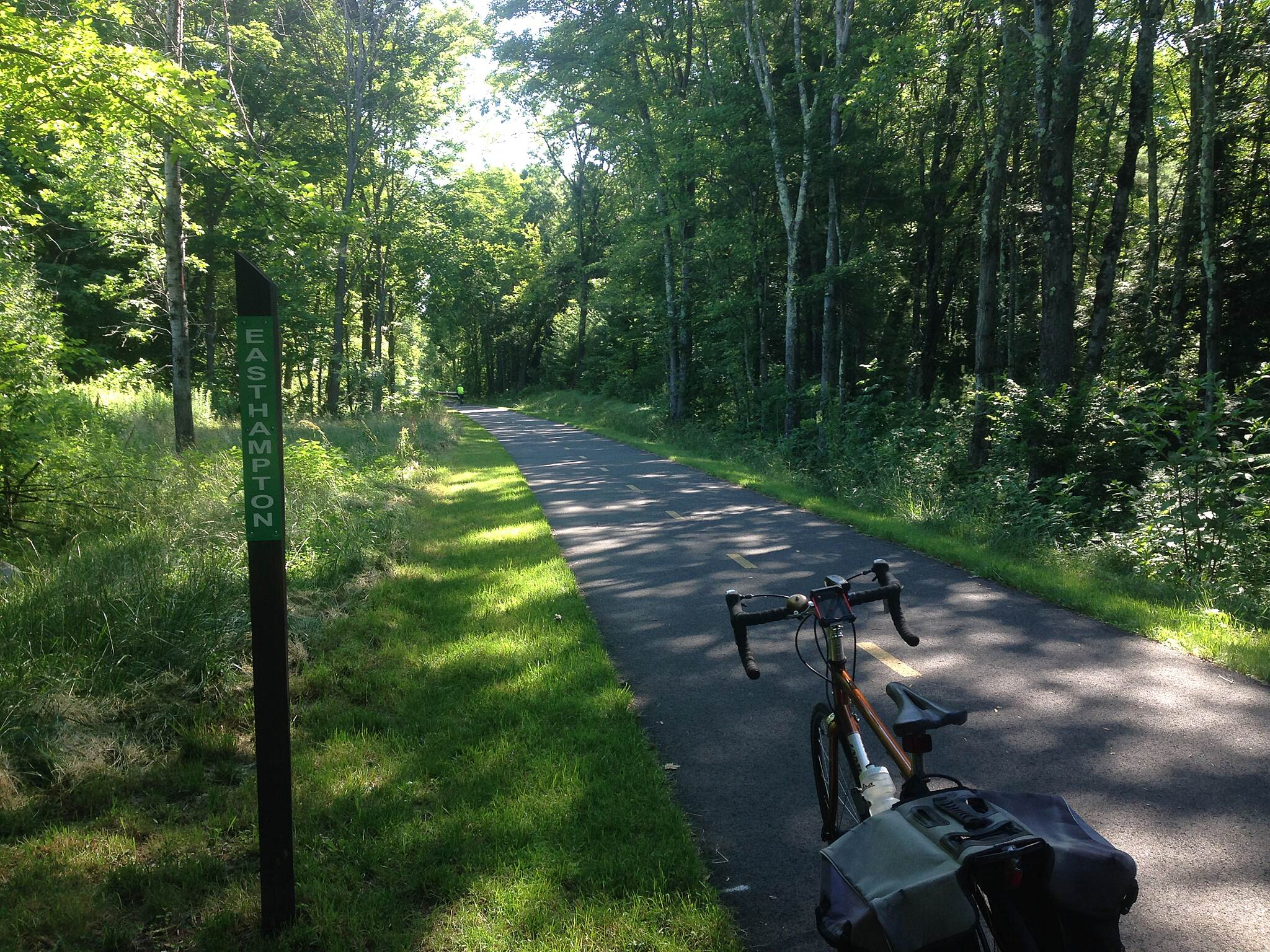 Manhan Rail Trail Southampton-Easthampton border