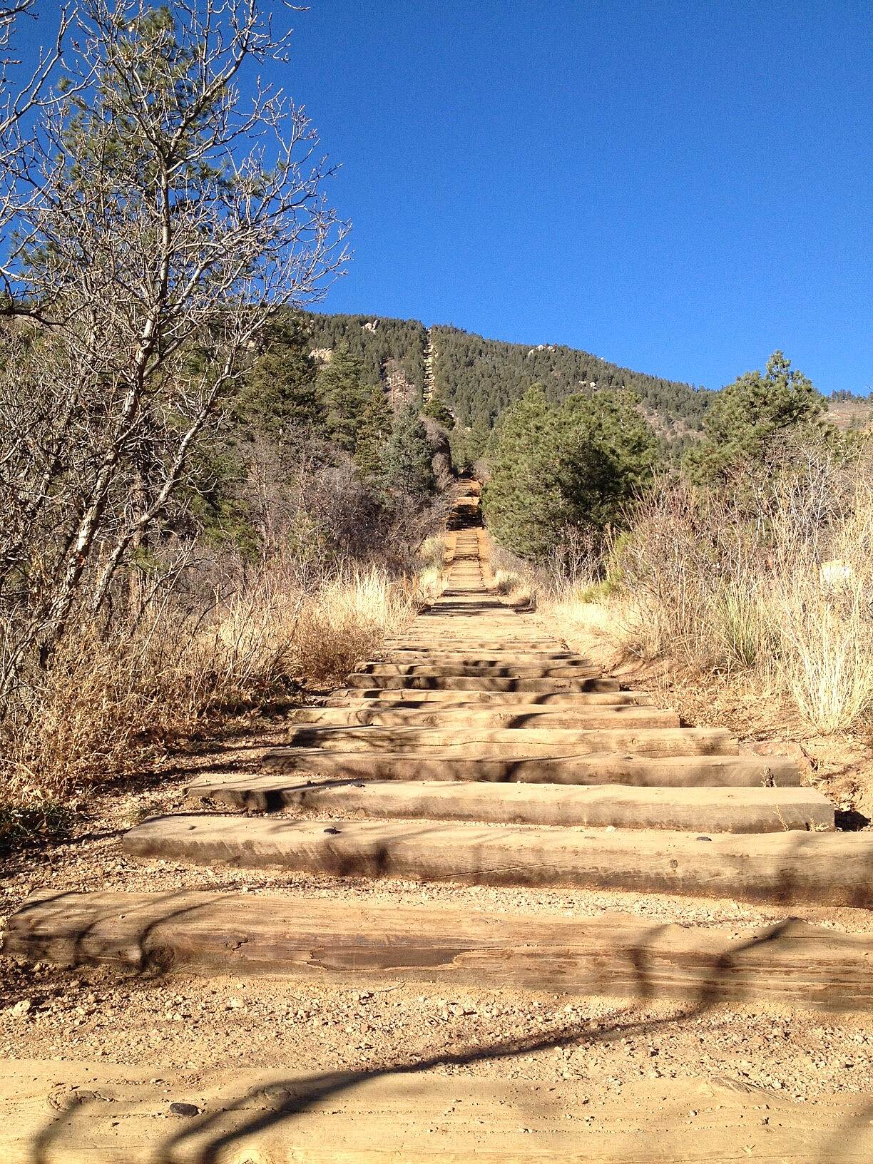 Manitou Incline Manitou Incline Photo courtesy VisitCOS.com