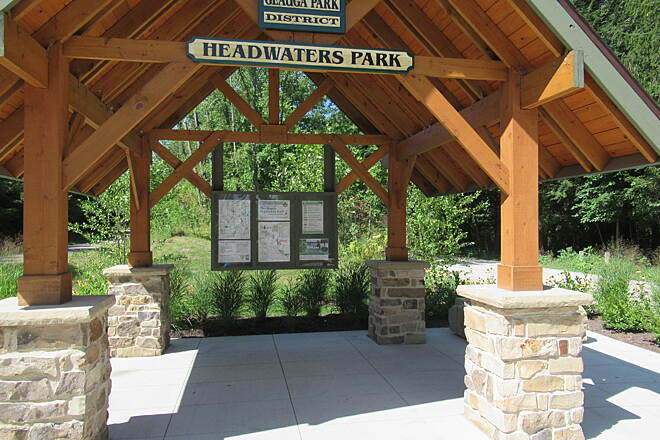 Maple Highlands Trail Headwaters Trailhead-New for 2018 New trailhead at Headwaters Park-Summer 2018