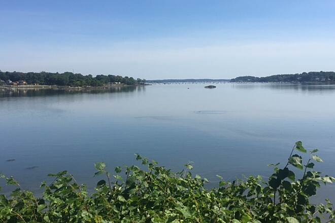 Marblehead Rail-Trail Water View