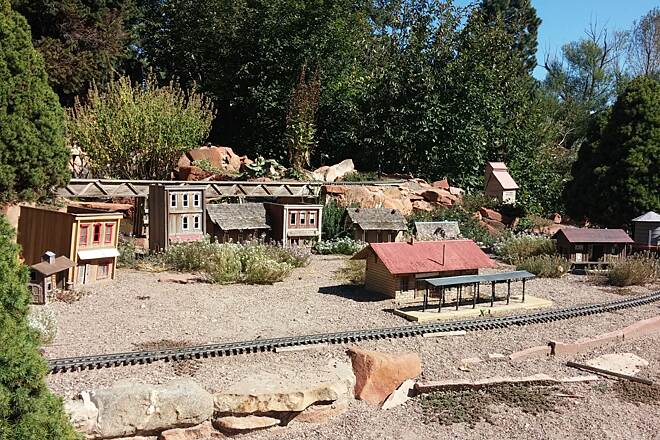 Mary Carter Greenway (Arapahoe Greenway) Hudson Gardens model railroad Part of Hudson Gardens. Hours of operation: 10-2 Tuesday, Thursday and Saturday