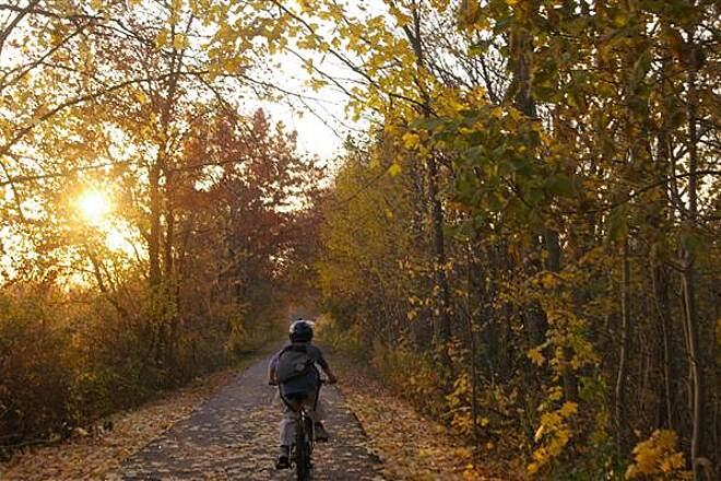 Mass Central Rail Trail Fall 05