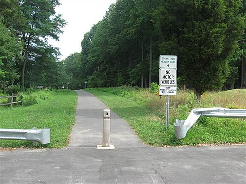 Matthew Henson Trail Alderton Road Enterance Limited on street parking available.