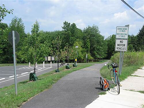 Matthew Henson Trail Layhill and Middlevale Road Parking available.