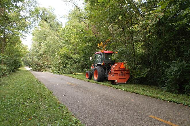MCT Goshen Trail Making It Right MCT crew clearing a fallen tree. They work hard. The area trails are always so well kept!