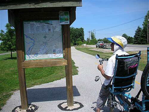 MCT Schoolhouse Trail   Very well mapped Madison County Trails