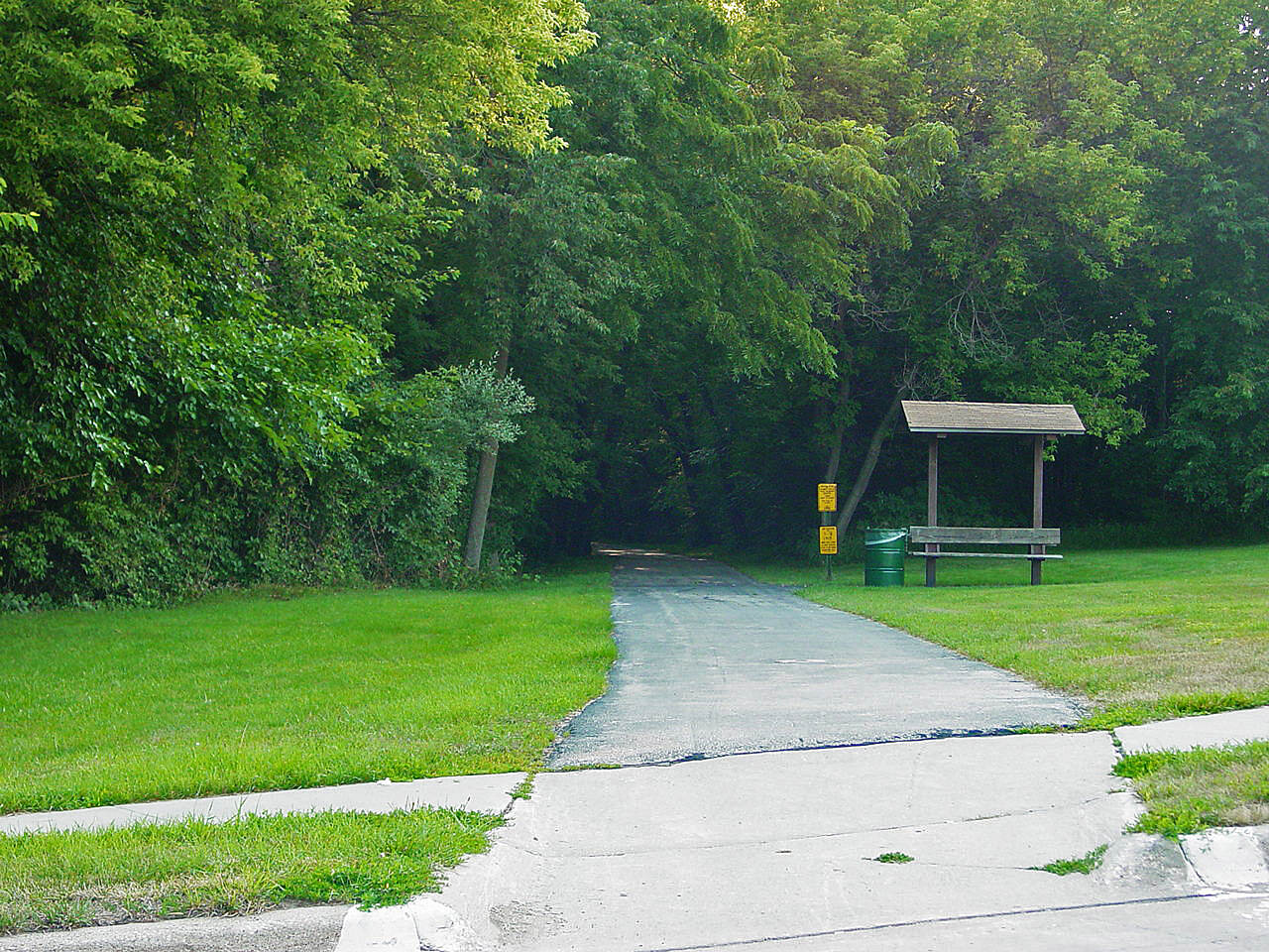 McVay Trail McVay Trail McVay Trail at the 9th Street crossing. Photo provided by Kathleen Kester, Indianola Parks & Recreation.