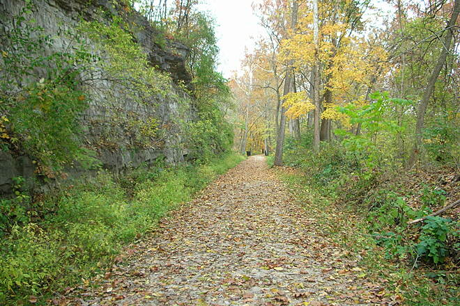 Meramec Greenway Trail Al Foster Trail A beautiful place in the fall!