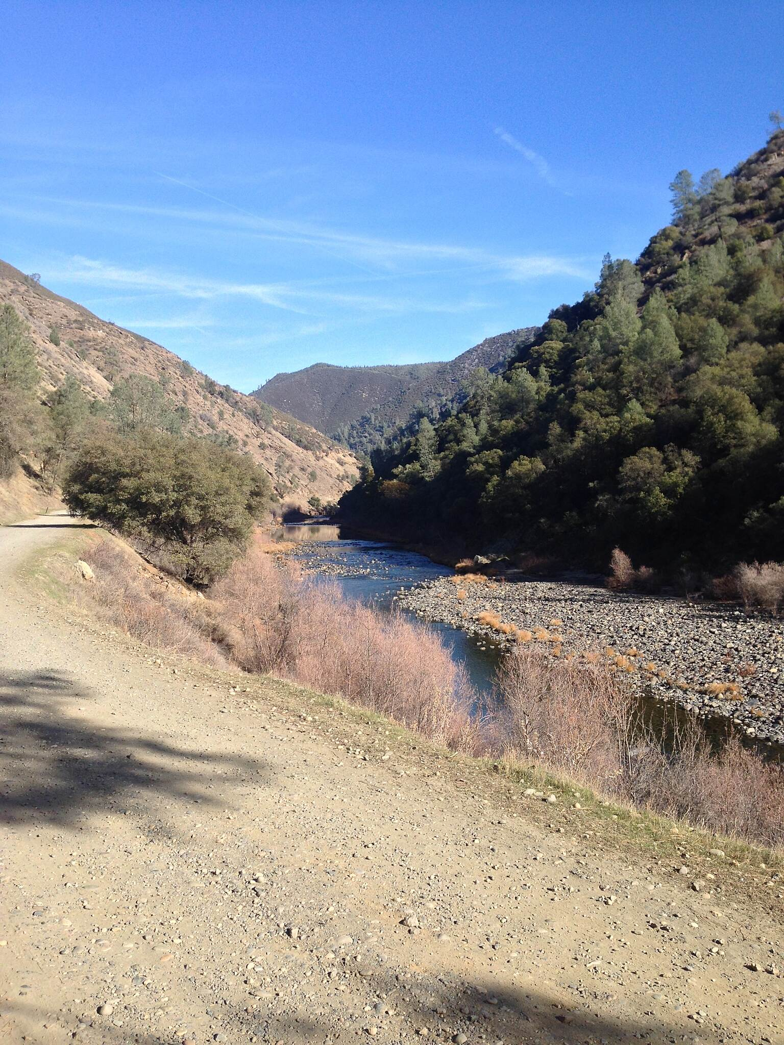 Merced River Trail Looking West