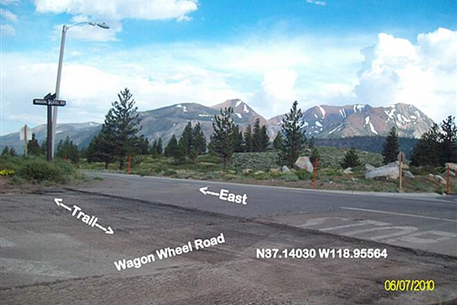 Meridian Connector Wagon Wheel Rd Great views to the southeast