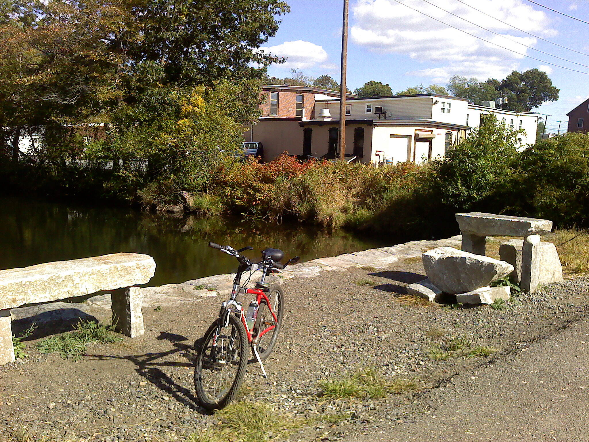 Methuen Rail Trail Benchhenge