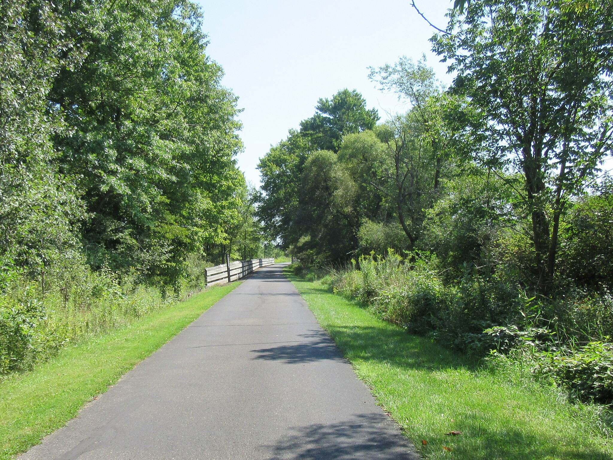 MetroParks Bikeway The Trail Just along the trail
