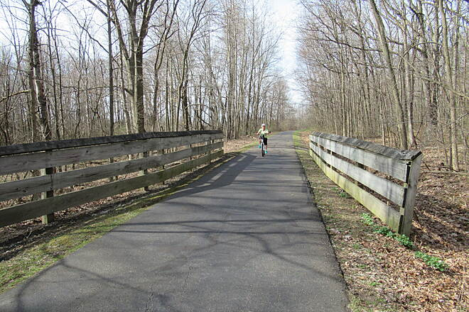 MetroParks Bikeway | Ohio Trails | TrailLink on