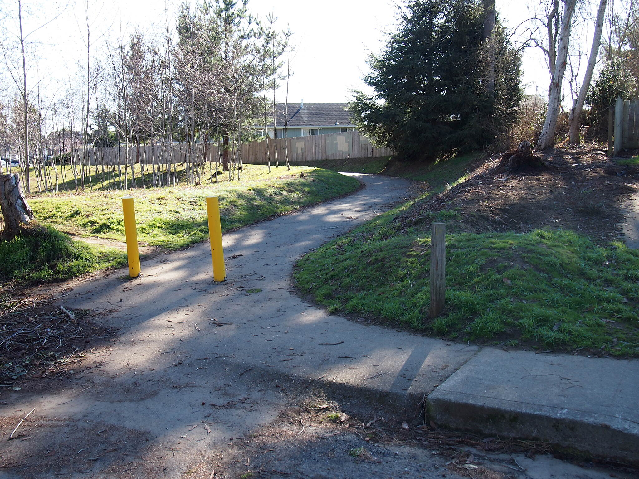 Mid-Town Trail South end of trail Located at Parkside Dr.