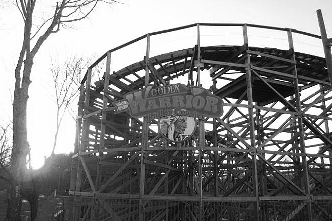 Middlebury Greenway Wooden Warrior Roller Coaster