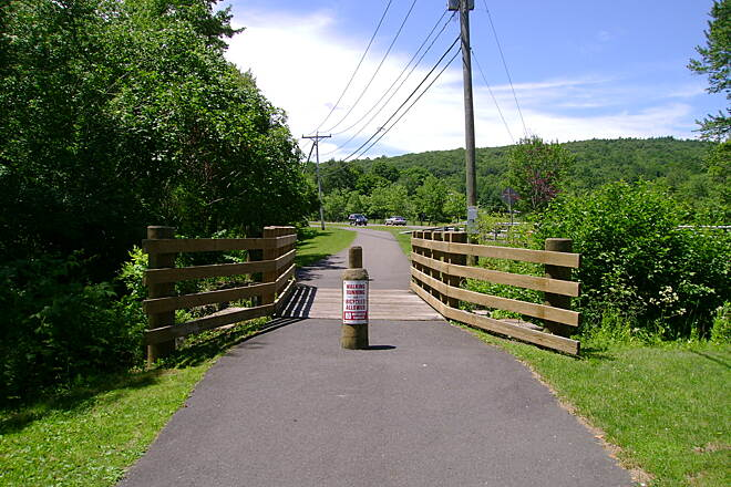 Middlebury Greenway Bridge
