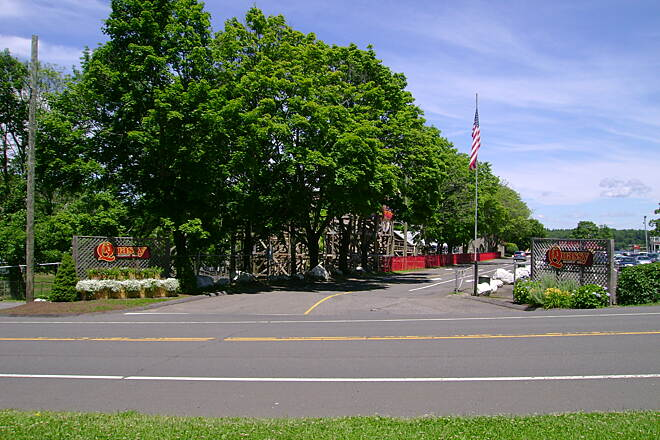 Middlebury Greenway View of Quassy Amusement Park