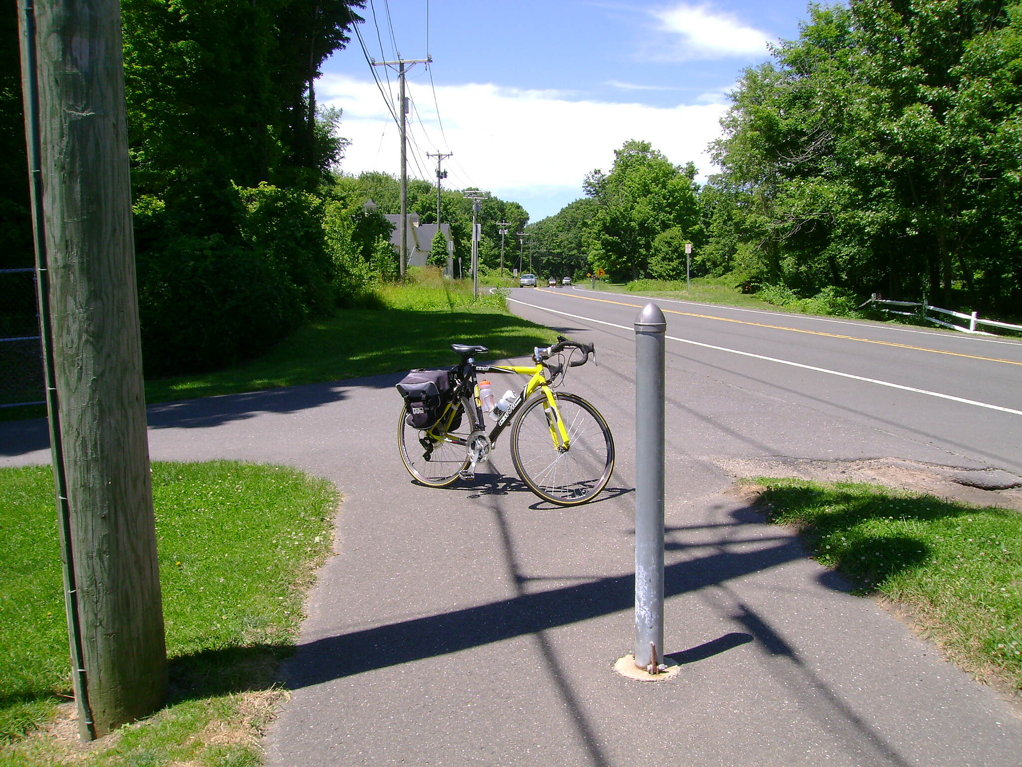 Middlebury Greenway End of the Middlebury Greenway