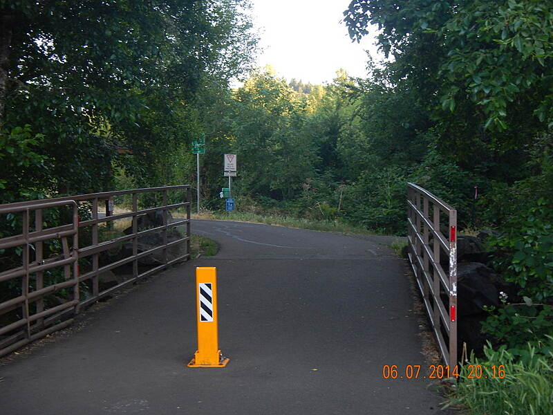 Midge Cramer Multi-Use Path Trail Head Parking availible here off NW Oak Creek Dr.