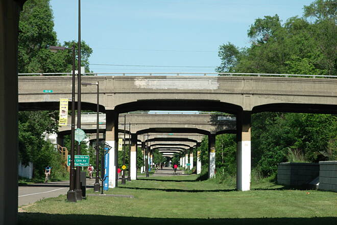 Midtown Greenway (MN) The Depression