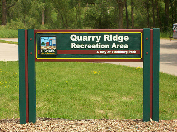 Military Ridge State Trail Easy Access to Military Ridge State Trail Military Ridge State Trail begins in Fitchburg and Quarry Ridge Recreation Area provides easy access to the trail along with a sizeable parking area and restrooms. Quarry Ridge is also home to the Quarry Ridge Mountain Bike Trail—free single track trail.