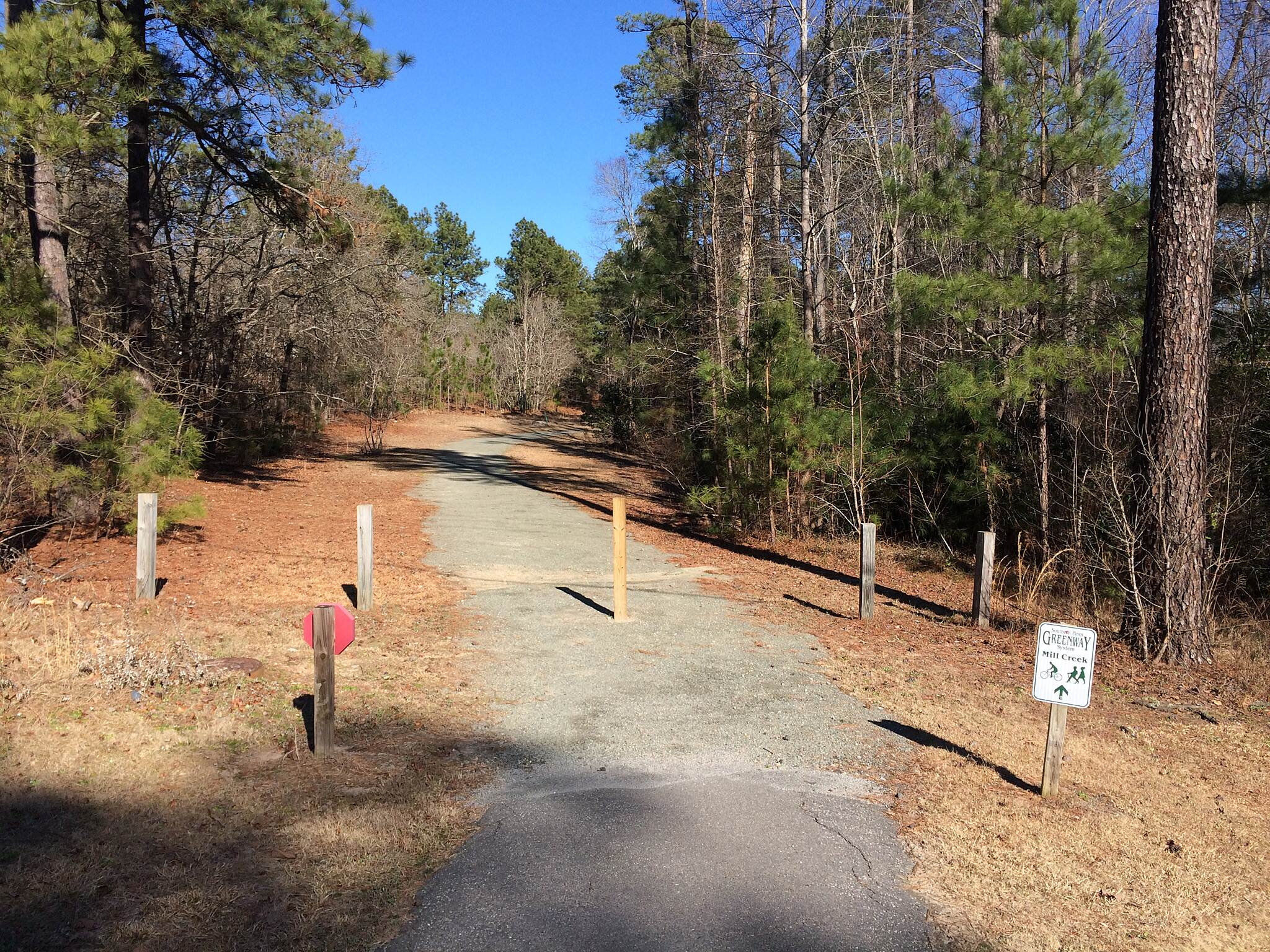 Mill Creek Trail Mill Creek Trail In Southern Pines