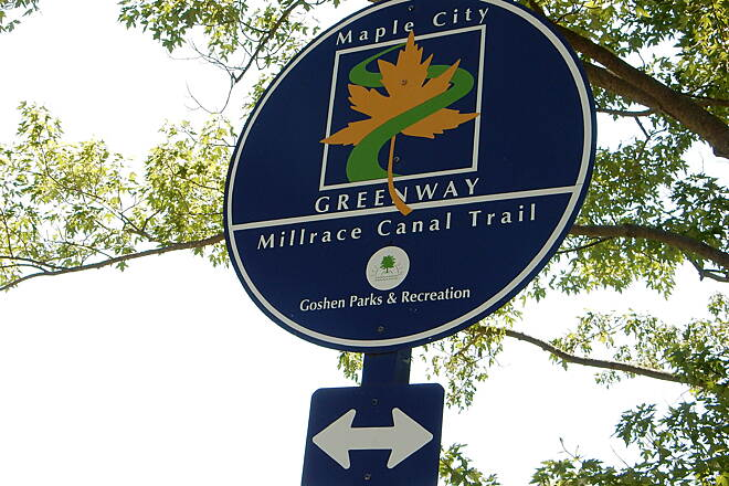 Millrace Trail Signage 6-25-16