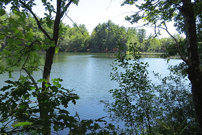 Mine Falls Park Nashua Canal Trail (Mine Falls Submitted by letswalk4949