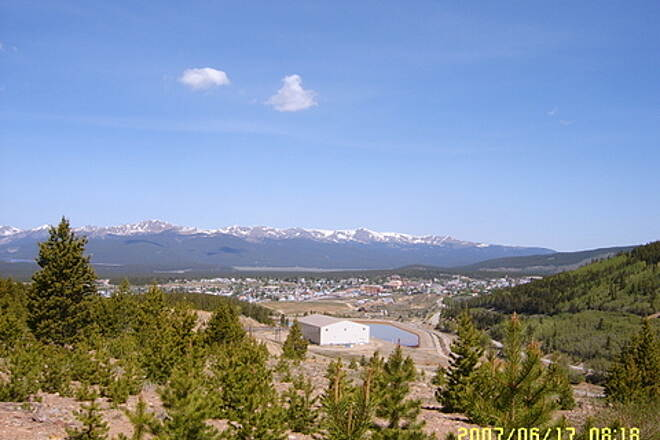 Mineral Belt Trail Leadville One of several views