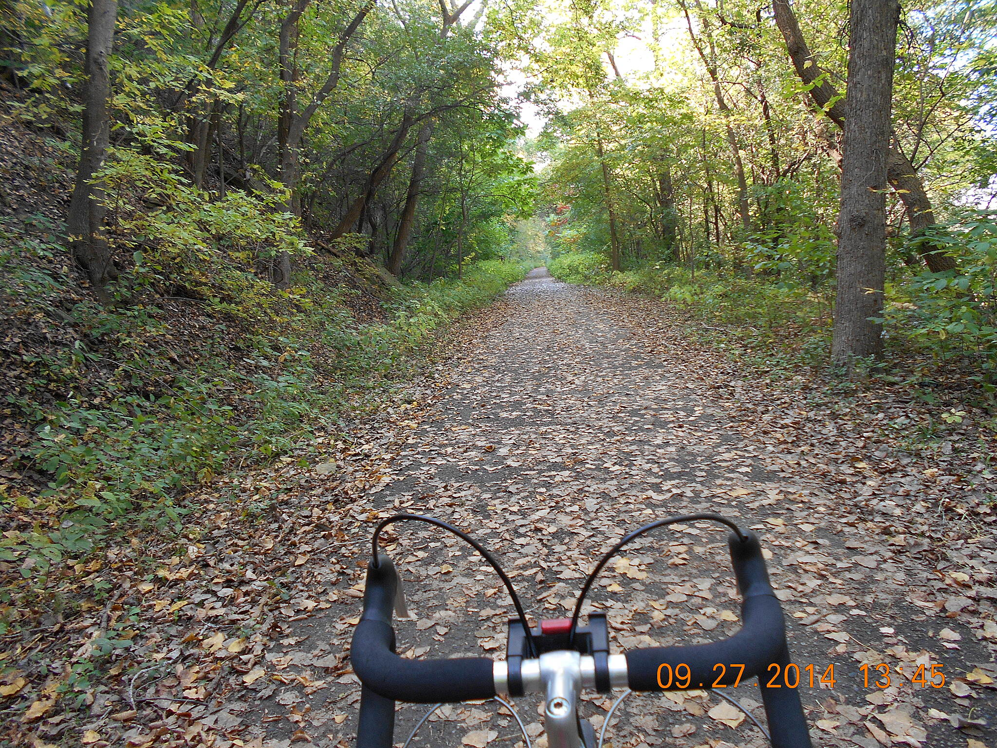 Minnehaha Trail gehopkins Below old Fort Snelling.